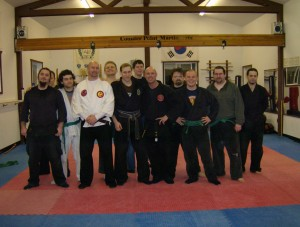 Budo Seminar Rob taught at Counter Point Martials in Hubbard 2007