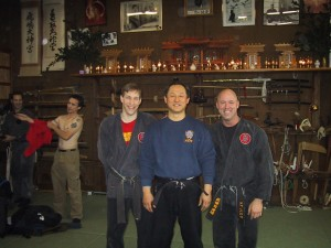 Mark, Nagato Sensei, and Rob 2005