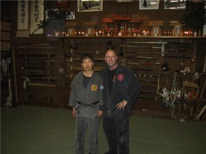 Oguri Sensei with Rob 2005