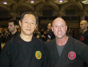 Rob with Nagato Sensei at 2007 Daikomyosai