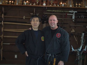Seno Sensei with Rob 2005